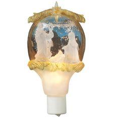 Nativity Shimmer Night Light