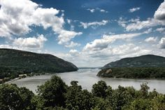 The Hudson River taken from Trophy Point, West Point, NY