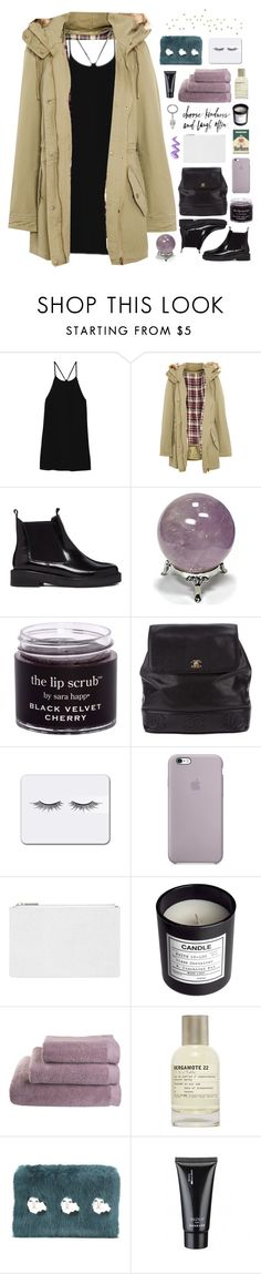 """""""☾ i am the wisdom of the fallen"""" by thundxrstorms ❤ liked on Polyvore featuring TIBI, Pull&Bear, ASOS, Chanel, Whistles, H&M, Le Labo, Shrimps and maddysfdsc1_1"""