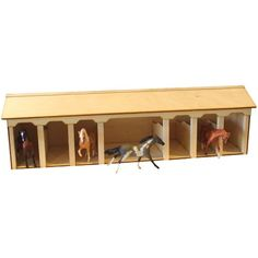 Homemade toy Barn for Horses | toy horse barn the stablemate stable is ...