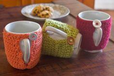 Crochet Mug Cosies – Next Saturday