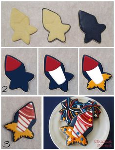 Rocket (Star Cookie Cutter)