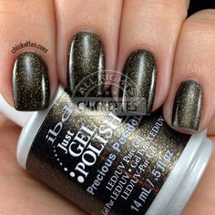Love this website! It has swatches of almost any gel polish and tons of nail art ideas.