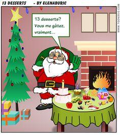 D'où vient la tradition des 13 desserts de Noël? Quiz de compréhension orale
