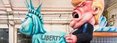 Jacques Tilly: Hass-Mails wegen Trump, Le Pen und Co.