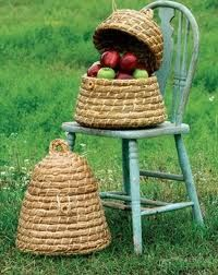 """Bee Skep Basket Dimensions (in): 14""""""""d x 17""""""""t By Kalalou - Kalalou is a wholesale manufacturer of distinctive home & garden decorative accessories. Usually ships within Five Business Days Please be a"""
