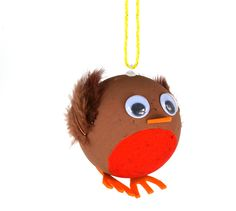 We love these cute Robin baubles, great as a group craft or to create a set of matching decorations. The range also includes Rudolph baubles! http://www.littlecraftybugs.co.uk/seasonal/christmas/kids-crafts/baubles-tree-decorations.html