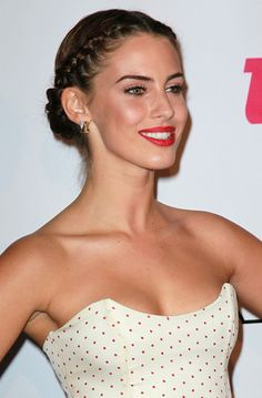 Jessica Lowndes Attractive Braided Hairstyles
