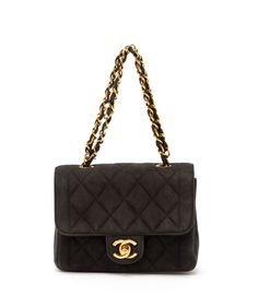 Chanel Vintage Mini Matelasse Handbag