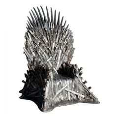 A Life-Size Iron Throne ($30,000) | 16 Items That Are On The Christmas List Of Your Nerdy Dreams