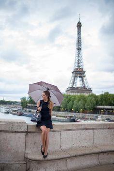 Little Black Dress In Paris