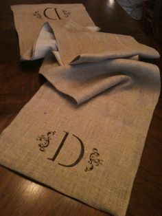 Etsy purchase - what a great idea! You could use any fabric - I like the idea of linen.