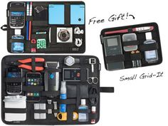 GRID-IT!™ Organizers - Perfect for carry-on luggage! I LOVE this.. looks handy to me and better than having everything in different little compartments!