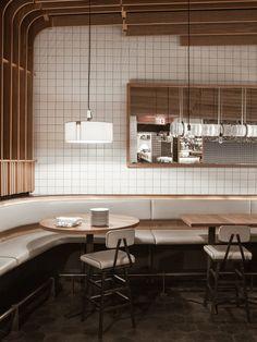 Gallery of Boqueria West St. / Studio Razavi architecture - 3 Gallery of Boqueria West St. Café Restaurant, Restaurant Concept, Restaurant Design, Design Café, Cafe Design, Store Design, Commercial Interior Design, Commercial Interiors, Commercial Architecture