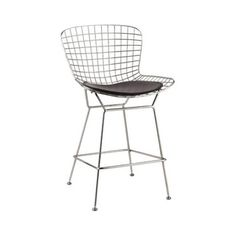 150 @Overstock - Wire Counter Height Chair - Wire stool chair with leatherette seat pad in choice of colors.  http://www.overstock.com/Home-Garden/Wire-Counter-Height-Chair/9923262/product.html?CID=214117 $148.99