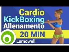 Esercizi di Cardio Kickboxing per Dimagrire Pancia e Cosce - YouTube
