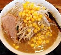 「味噌ラーメン 800円 コーン100円」@味噌麺処 花道の写真
