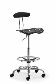 ZUO Farallon Drafters Chair, Black by zuo. $105.03. Sleek plastic back. Desk to bar height adjustment. Seat with foot rest. With desk to bar height adjustment, the Farallon Drafters chair works as a versatile tool. It has a sleek plastic back and seat with foot rest and a rolling base.