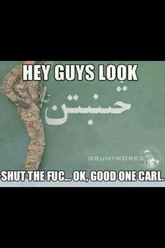Shut the f* up Carl!