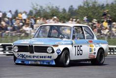 Helmut Kelleners behind the wheel of a Koepchen BMW 2002 at the 1000 Kms 1973
