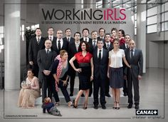 WORKINGIRLS  FRENCH TV SHOW ON CANAL+