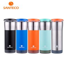 6c5b4867f52 ... Tumbler Vacuum Insulated Coffee Cup BPA free Water Bottle 473ml  590ml-in Vacuum Flasks   Thermoses from Home   Garden on Aliexpress.com