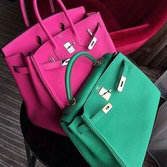 """Green or Pink?  Follow my favorite accounts @StateofLate  @EllaMilaPolish  @JJHoneyStyle  @FarsaliCare """