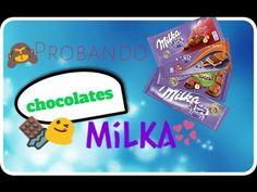 Probando chocolates Milka ~ NuriCreacion ~