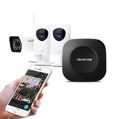 CleverLoop smart wireless security camera system. Securit...