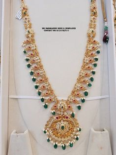 Gold Chain Design, Gold Jewellery Design, Gold Jewelry, Gold Bangles, Fine Jewelry, Gold Earrings Designs, Necklace Designs, Gold Haram Designs, Indian Jewelry Sets