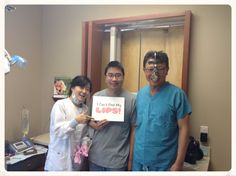 Perry can't feel his lips, but he's in good hands with Dr. Choi! #dentist #irvine