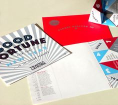 this fortune teller holiday card was created for Travel + Leisure magazine by art Director Jill Sabato