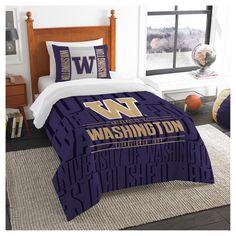 NCAA Northwest Modern Take Twin Comforter Set Washington Huskies - 64 x 86