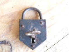 Small French Vintage working Padlock by VintageRetroOddities