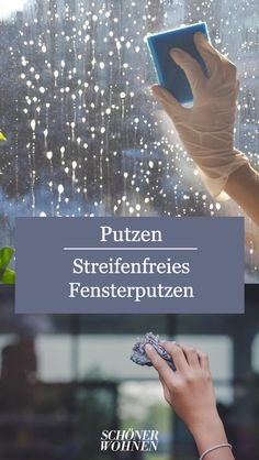 Fenster putzen – ganz ohne Streifen Clean windows - without any streaks. Borax Cleaning, Bathroom Cleaning Hacks, Kitchen Cleaning, Kitchen Hacks, Blackhead Extractor Tool, 1000 Life Hacks, Visual Memory, Household Chores, Household Tips
