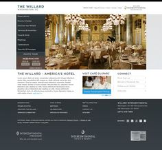 The Willard #design #webdesign #design