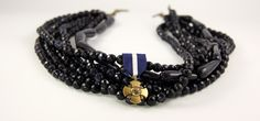 Navy Cross by RJBIJOUX #jewelry #accessories #instyle #fashion #trend