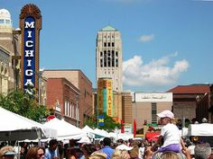 Ann Arbor Art Fair.  Ann Arbor, MI.