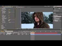 How to Create Snow in Adobe After Effects (Trapcode Particular) - YouTube