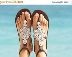 Handmade item Materials: 3 mm Leather, African Bead Gift message available Ankle Wrap Sandals, Cute Sandals, Bare Foot Sandals, Leather Sandals, Beaded Shoes, Beaded Sandals, Beaded Anklets, Bohemian Sandals, Greek Sandals