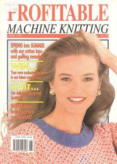 Profitable Machine Knitting Magazine 1992.06 Free PDF Download 300dpi ClearScan OCR