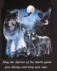 May the spirits guide you