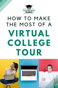 Students who want to get the most from their virtual college tour need to use the right approach. Here are some dos and don'ts that can help. College Success, College Fun, College Life, College Campus, How To Find Scholarships, Scholarships For College, College Counseling, Make Friends In College, Senior Ads