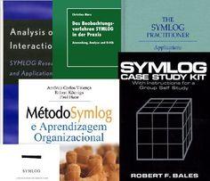 Capas de livros sobre Symlog, um sistema criado por Robert Freed Bales