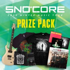 SNOCORE Prize Pack