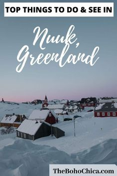 Best Things to do in Nuuk GreenlandNuuk, Greenland is an exciting Arctic capital worth visiting for its own sake. From art, culture, shopping, nature and day trips to practical advice for hotels in Nuuk, weather, restaurants, and transportation, this is your guide to the best things to do in Nuuk. Free map included to help you plan your visit to Greenland.