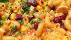 Mexické těstoviny s kuřecím masem z jednoho hrnce recept – Magnilo Risotto, Macaroni And Cheese, Food And Drink, Fruit, Cooking, Ethnic Recipes, Kitchen, Mac And Cheese, Brewing