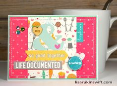 We Go Together Like Milk and Cookies Cute Card by thecardkiosk