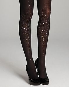 Pretty Polly Embellished Sparkle Tights | Bloomingdale's