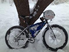 Loves me some fat biking! #fatbike #bicycle